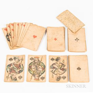 Deck of Early Playing Cards