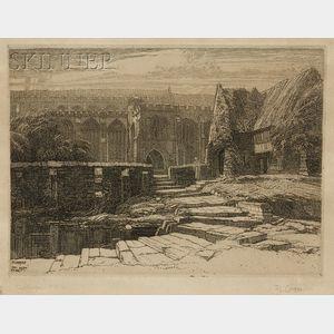 Frederick Landseer Maur Griggs (British, 1876-1938)      Sellenger