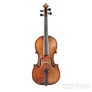 Fine Neapolitan Violin, Attributed to the Gagliano Family, Mid-19th Century