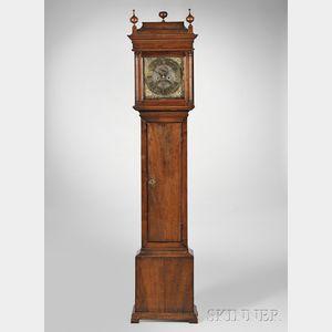 John Wood Sr. Walnut Eight-day Tall Clock