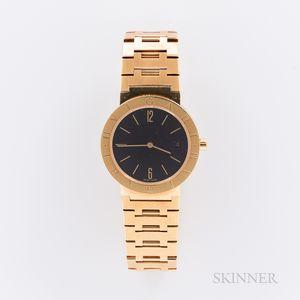 Bulgari 18kt Gold Reference BB 33 GGD Wristwatch