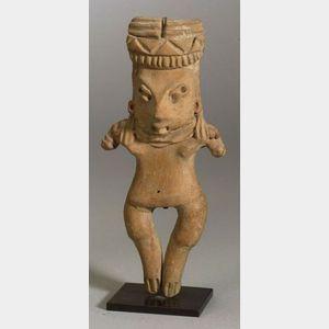 "Pre-Columbian Pottery ""Pretty Lady,"""
