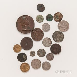 Small Group of American and World Coins