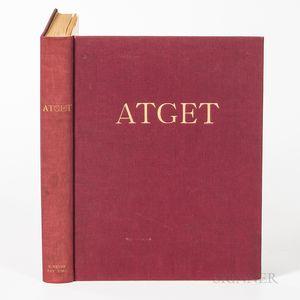 Atget, Eugene (1857-1927) Atget Photographe de Paris.