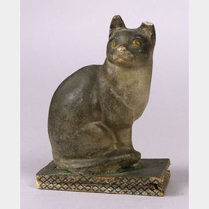 Mechanical Squeak Toy Cat