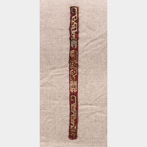 Pre-Columbian Textile Band