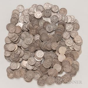 265 Walking Liberty, Franklin, and Kennedy Half Dollars