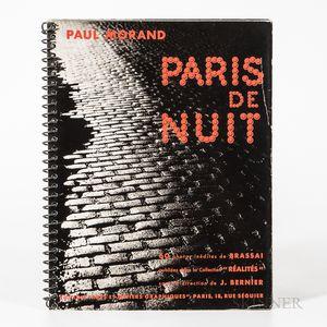 Brassai (1899-1984) Paris de Nuit.