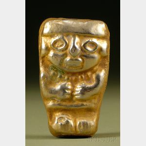 Pre-Columbian Tumbaga Figure