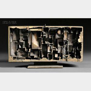 Julius Schmidt (American, b. 1923)      Untitled [Abstract]