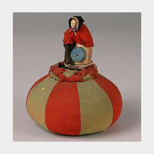 Unusual Peddler-type Pincushion Doll