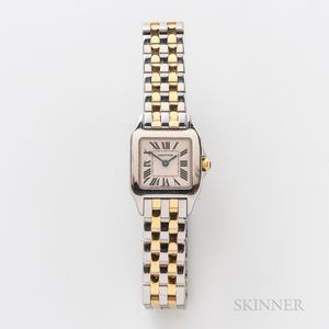 """Cartier Two-tone """"Santos Demoiselle"""" Reference 2698 Wristwatch"""