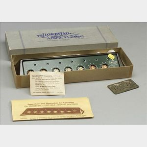 Group of Calculators and Slide Rules