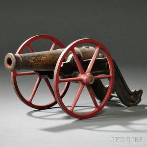 Cast-metal Signal Cannon