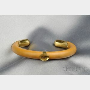 18kt Gold and Wood Bracelet, Elsa Peretti, Tiffany & Co.