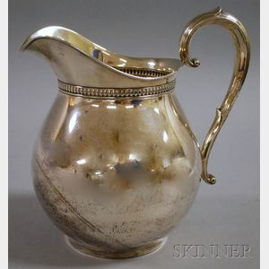 Wallace Sterling Silver Water Pitcher
