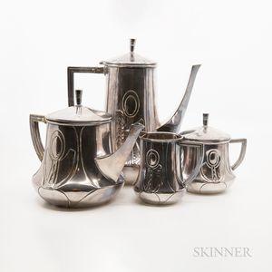 Art Nouveau Coffee and Tea Set