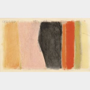 John Opper (American, 1908-1994)      Untitled Abstraction