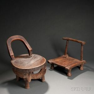 Two African Chairs
