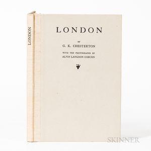 Chesterton, Gilbert Keith, (1874-1936) and Alvin Langdon Coburn (1882-1966) London.