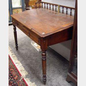 Late Victorian Oak Slant-lid Clerks Desk.