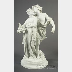 Parian Classical Figure Group
