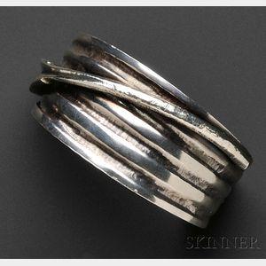 Sterling Silver Cuff, M. Buccellati