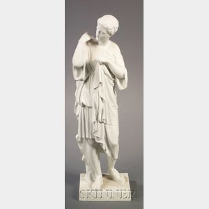 Limoges Parian Figure of a Classical Woman
