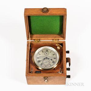 Kelvin & Wilfrid O. White Co. Two-day Chronometer