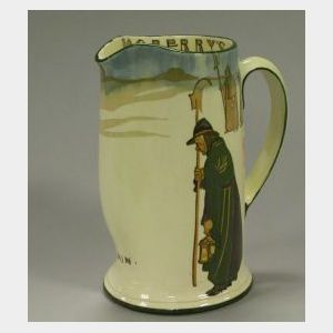Royal Doulton Dogberry's Watch Ceramic Pitcher