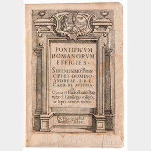 Cavalieri, Giovanni Battista (1526-1597) Pontificum Romanorum Effigies.