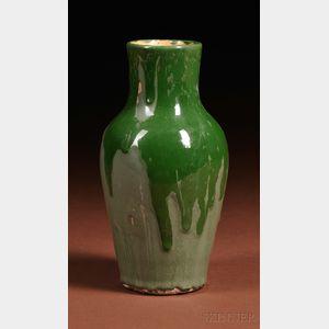 Sold for: $1,304 - Dedham Pottery Experimental Vase