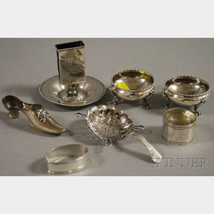 Seven Small Assorted Sterling Articles