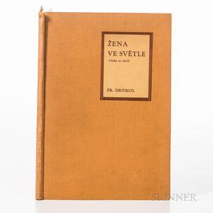 Drtikol, Frantisek (1883-1961) Zena ve Svetle [Woman in Light].