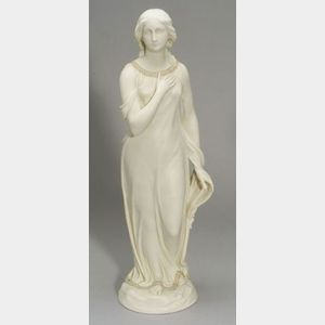 Copeland Parian Figure of Beatrice
