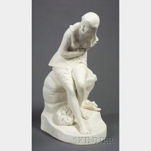 Minton Parian Figure of Dorothea