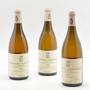 Comtes Lafon Meursault Les Genevrières 2006, 3 bottles