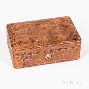Small Tiffany & Co. Leather Box