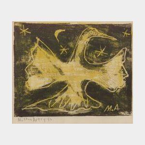 Milton Avery (American, 1893-1965)  Dawn