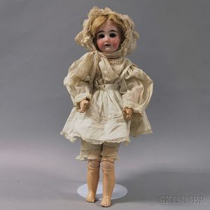 DEP Bisque Socket Head Doll