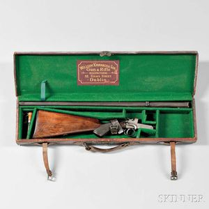 William Kavanagh & Son Rook Rifle with Maker's Case