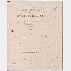 Pastnernak, Boris (1890-1960) My Sister-Life  , Illustrated and Signed by Yuri Kuper.