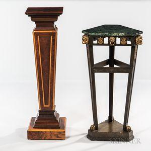 Two Decorative Pedestals