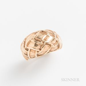 14kt Gold Knot Ring
