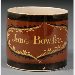 Creamware Porter Mug