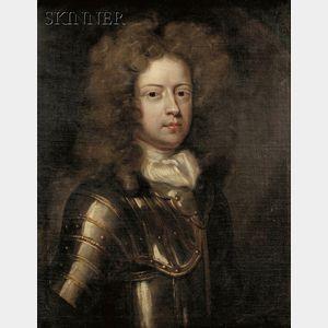 School of Godfrey Kneller (British, 1646-1723)      Portrait of a Nobleman, possibly the Duke of Marlborough