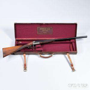 Stephane Dion Boxlock 16 Gauge Double-barrel Shotgun with Maker's Case
