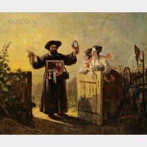 Charles Robert Leslie (British, 1794-1859)      The Village Pedlar