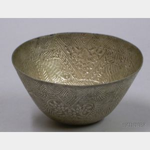 Peruvian Silver Bowl