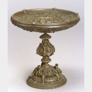 French Renaissance Revival Bronze Tazza